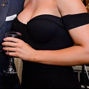 bebe Dresses - BEBE Black Formal Dress